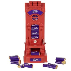 Cadburys chocolate savings machine